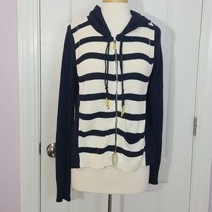 Moth Anthropologie Silk & Cotton Sweater Cardigan